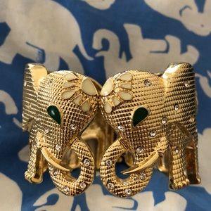 Lilly Pulitzer Jewelry - Lilly Pulitzer Elephant Cuff Bracelet